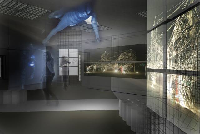 """Проект экспозиции выставки """"Лаборатория пространства"""""""